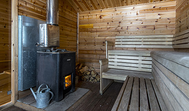 Wood-fired Sauna